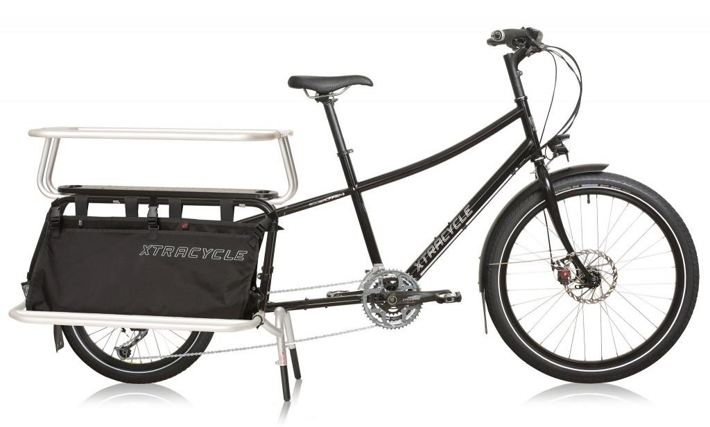 ORIGINALEN: Slik ser Xtracycle Edgerunner ut i familieversjon med 27 gir og ingen elmotor. Foto: Xtracycle