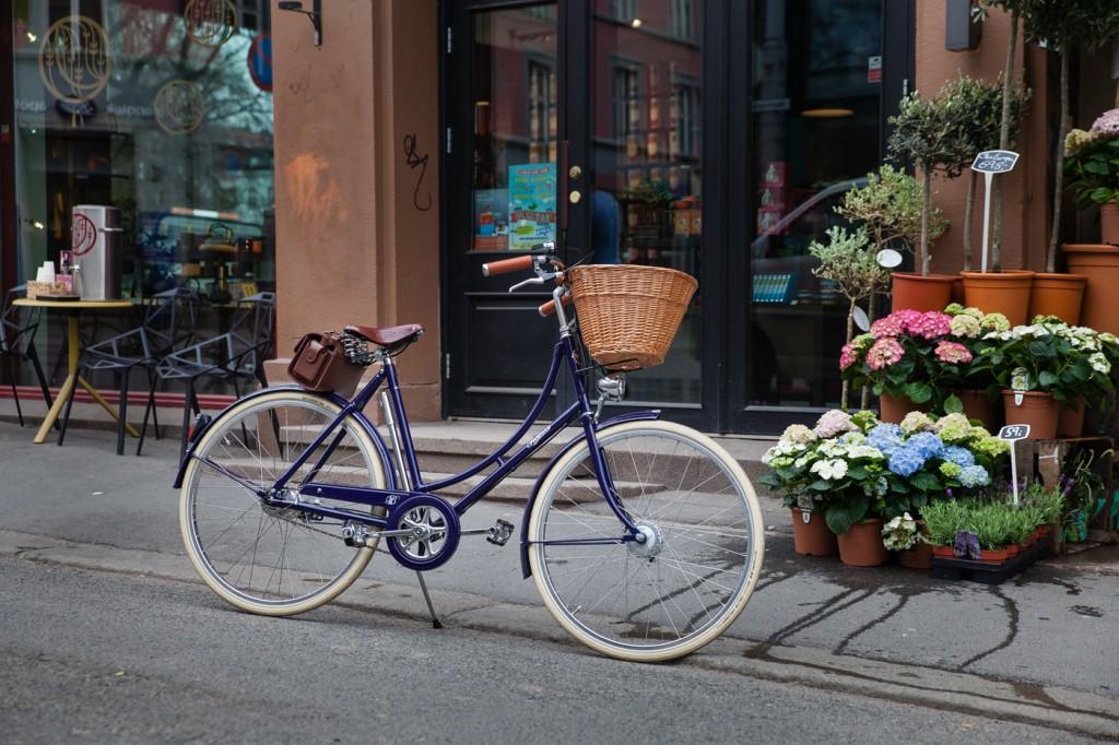 PASHLEY: Britisk, funksjonell eleganse fra merket som har produsert sykler siden 1926. Dette er modellen Britannia til 6 795 kroner (seteveska er ekstrautstyr). Foto: Geir Anders Rybakken Ørslien
