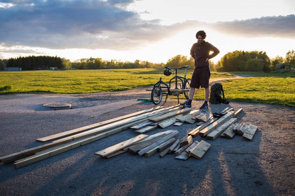FØR START: Sykle alle disse hjem selv? Almost too easy! Foto: Geir Anders Rybakken Ørslien